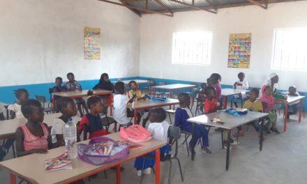 Busumbala Nursery School is Open – Day 2