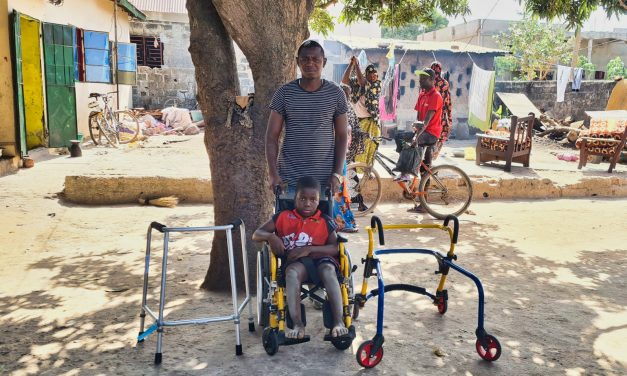 Ebrima and Caring4Mobility
